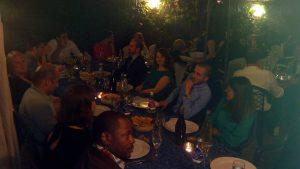 Le dîner final du Séminaire 2016